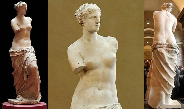 Venus de Milo. Escultura.