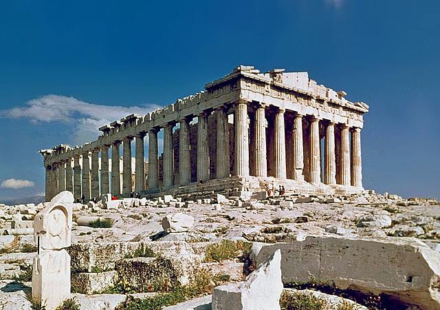 Partenón (Pericles). Arquitectura.
