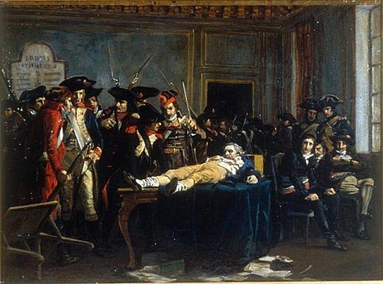 Execució Robespierre