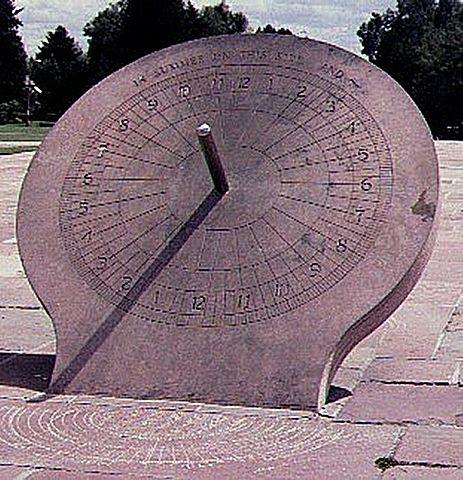 Gnomon o reloj solar