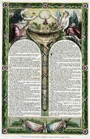 A primeira Constituição francesa e a declaração dos direitos