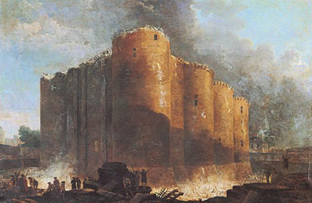 A queda da Bastilha