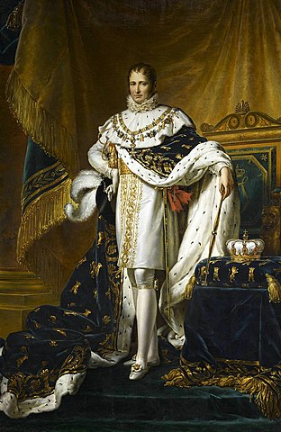 Invasion of Spain and Joseph Bonaparte crowned king