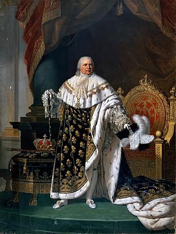 Coroação de Luís XVIII