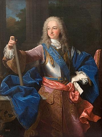 Felipe V abdica en su hijo Luis I