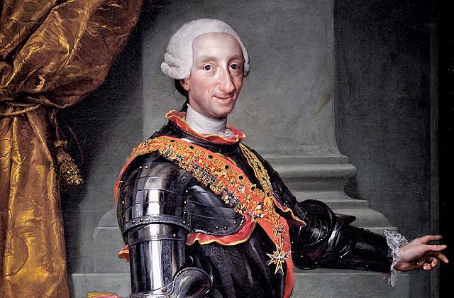 Fallece Fernando VI sin descendencia y le sucede en el trono su hermano Carlos III (rey de Nápoles)