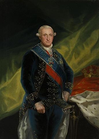 Muere Carlos III y le sucede en el trono su hijo Carlos IV