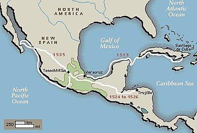 Cortes left Cuba