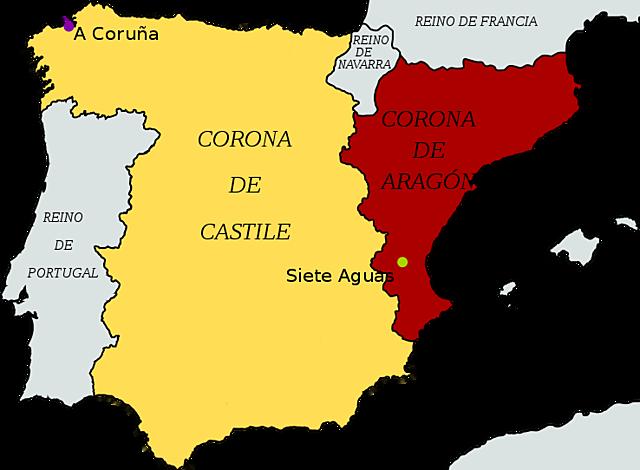 Spanyolország létrejötte