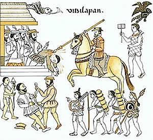 Attack on Pánfilo de Narváez