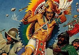 Death of Moctezuma Xocoyotzin