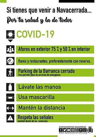 Nuevas medidas contra el Covid-19