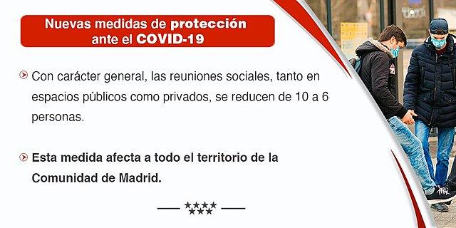 Nuevas medidas de protección covid-19