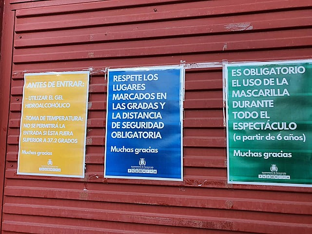 Protocolo de seguridad Covid19 Plaza de Toros