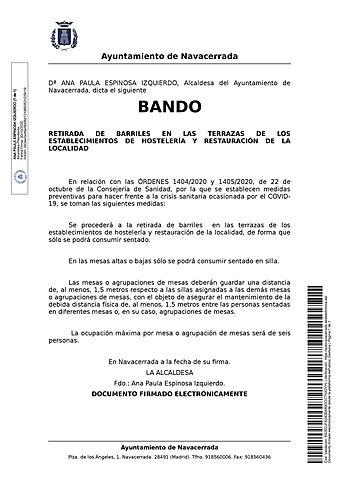 BANDO 30-10-20