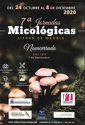 7º Jornadas micológicas en Navacerrada