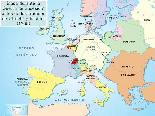 Tratados de Utrech y Rastadt.