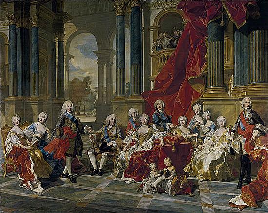 Vuelta al trono de Felipe V.