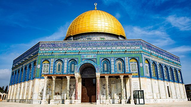 The Dome of the Rock is finished