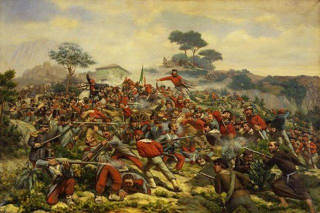 La battaglia di Mentana