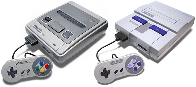 Super Famicom y SNES