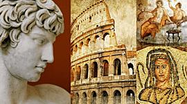 Eje Cronológico Arte en la Antigua Roma timeline