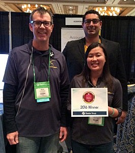 AccountingSuite™ wins Sleeter's Awesome Savvy Startup Award