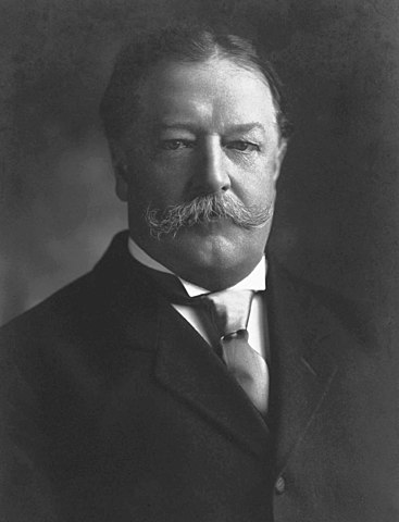 William Howard Taft elected President of the United States