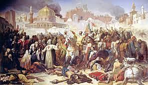 Christian armies recapture Jerusalem