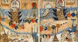 The Mongol army sacks the city of Baghdad