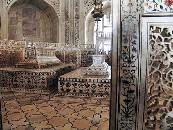 a tomb for the wife of the Mughal Emperor, is completed in India.