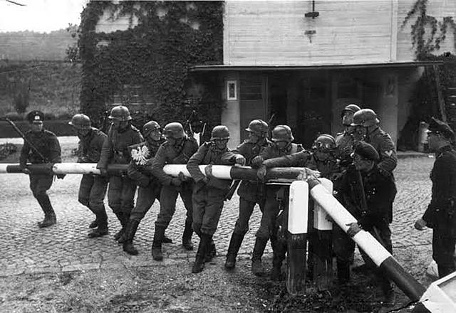 Estallido de la Segunda Guerra Mundial