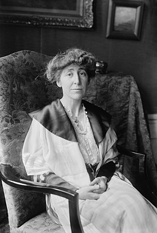 Jeanette Rankin of Montana is the first woman elected to the U.S. House of Representatives
