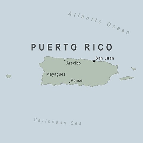Puerto Rico becomes a U.S. commonwealth