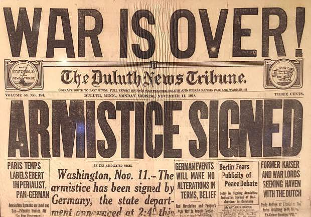 Armistice ends World War I