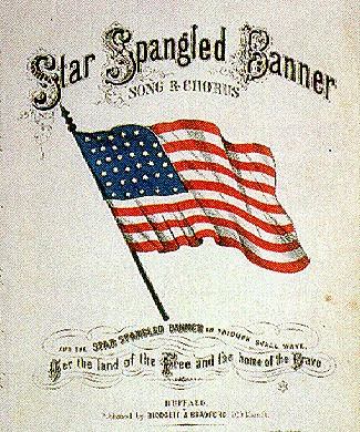 The Star Spangled Banner is adopted as the U.S. national anthem