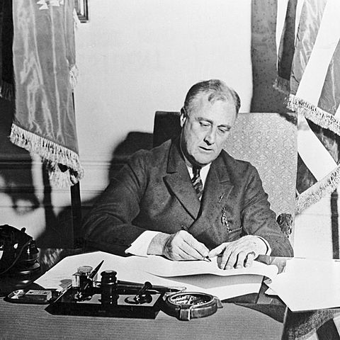 First New Deal Programs enacted by FDR