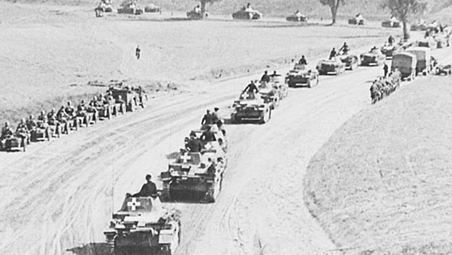 World War II begins with Germany's invasion of Poland