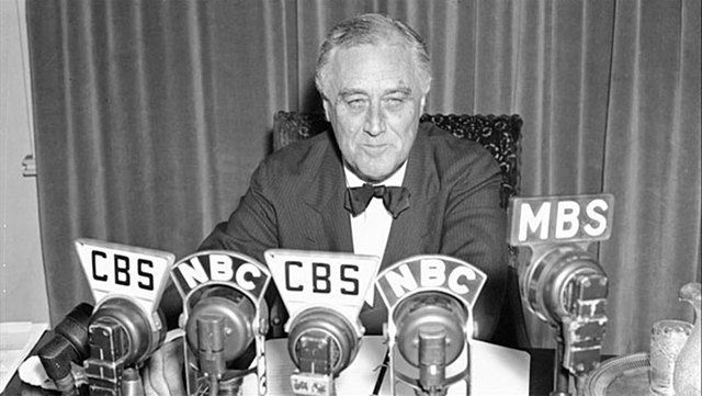 U.S. declares neutrality at the beginning of World War II