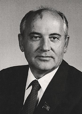 Mikhail Gorbatsjov blir leder i Sovjetunionen