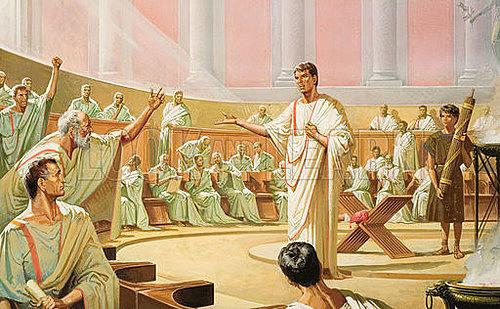 Rom blir republik