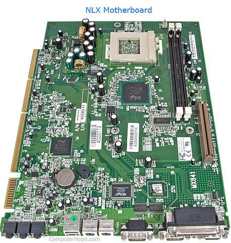 Motherboard NLX