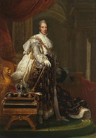 Carolos X (sucessor de Luís XVII)