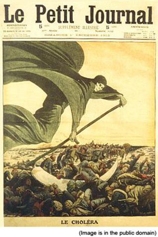 First cholera pandemic (1816-1826).