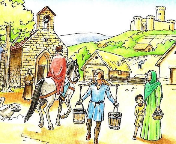 La aldea.