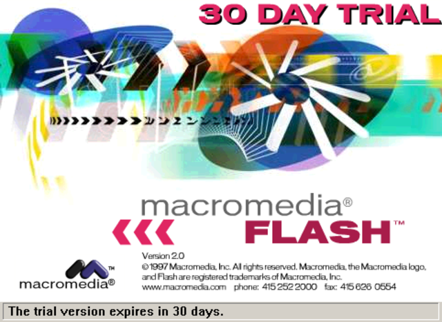 Macromedia Flash Player 2