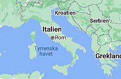 Rom kontrollerar den Apenninska halvön