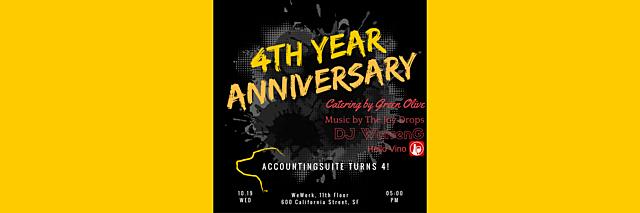 AccountingSuite™ Turns 4!