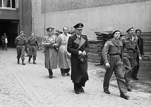 Fin de la Seconde Guerre mondiale.