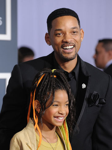 For I Am Legend, Willow is conservative in velvet blazer and pants